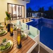 E 户型泳池